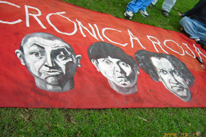 Trapos Cronica Roja .- El Trapo Del Chespi