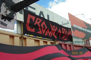 Trapos Cronica Roja .- Los Trapos Y La Bandera Mas Grande Del País