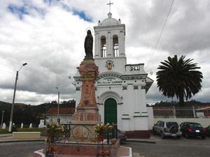 Monumento a Maria Virgen de Bronce .-