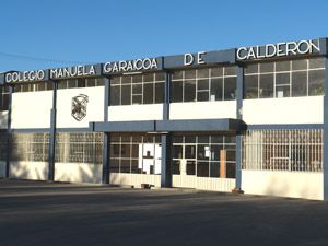 Colegio Manuela Garaicoa de Calderón .-
