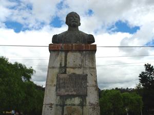 Monumento a Antonio Vega Muñoz .-