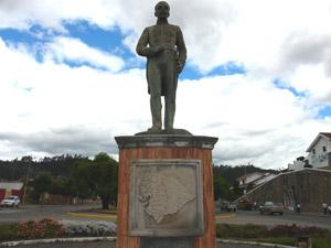 Monumento a Honorato Vásquez .-