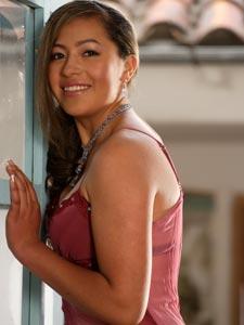 Elección de la Reina del Azuay 2006 .- Elizabeth Méndez, 20 Años de Edad, representante del Cantón Girón
