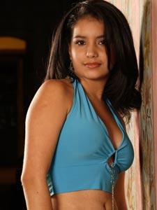 Elección de la Reina del Azuay 2006 .- Lady Márquez, 17 Años de Edad, representante del Cantón Pucará