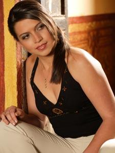 Elección de la Reina del Azuay 2006 .- Maria E. Cajamarca, 18 Años de Edad, representante del Cantón Santa Isabel