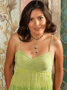 Elección de la Reina del Azuay 2006 .- Mayra Martínez 19 años de Edad, representante del Cantón Paute