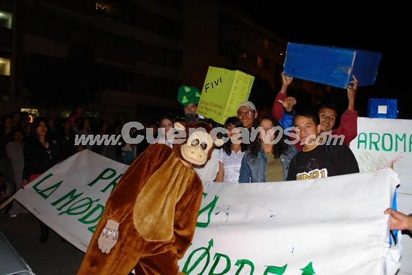 Los Inocentes 2007 .- La situación política, la multiculturalidad, la identidad morlaca y el tema ecológico destacaron durante el evento.