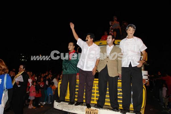 Los Inocentes 2007 .- Los aplausos de los presentes no se hicieron esperar, mientras la actuación de los participantes llevaban a pensar.