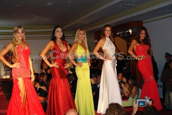 Presentación de las Candidatas a Miss Ecuador 2007 .-