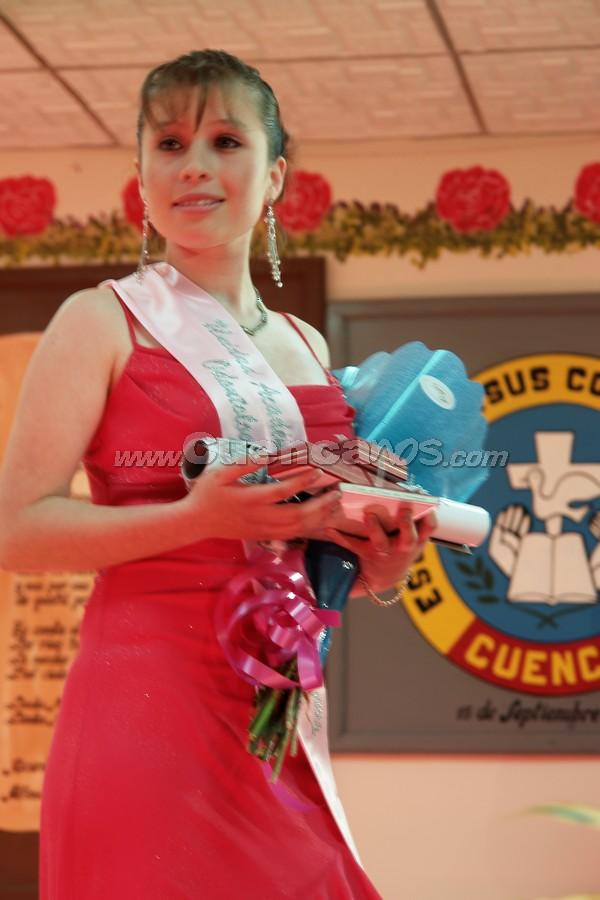 Carolina Fernanda Heras candidata a Morlaquita 2008 .-