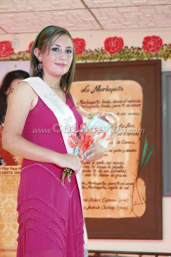 María Belén Chacón candidata a Morlaquita 2008 .-