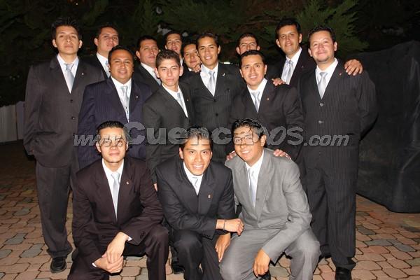 Organizadores del Torneo Galante Morlaquita 2008 .-