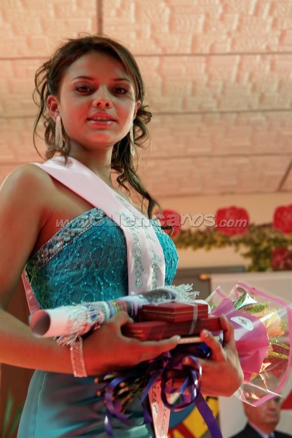 Glenda Carolina Pimienta electa Morlaquita Simpatía 2008 .-