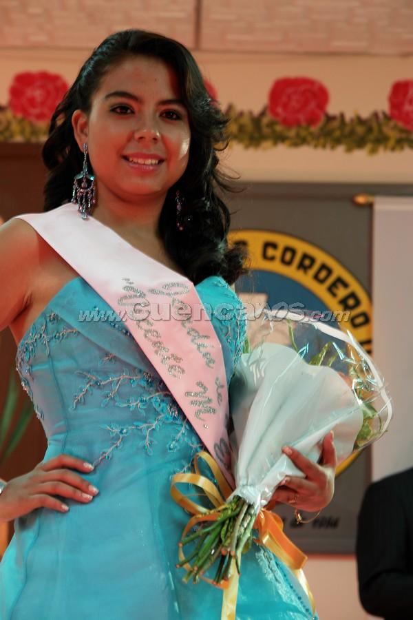 Estefanía Maldonado candidata a Morlaquita 2008 .-