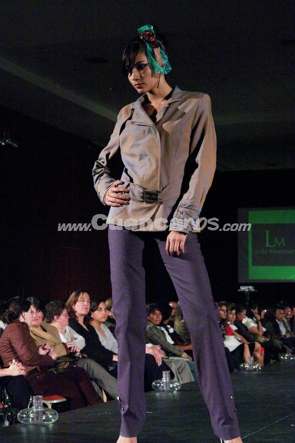 Fashion Week 2008 .- En el centro de Convenciones del Mall del Río se realizo el Fashion Week 2008, donde todo el público presente disfruto de los exclusivos diseños de Ela (Mónica Borrero, María de Lourdes Martínez y Margarita Reyes)