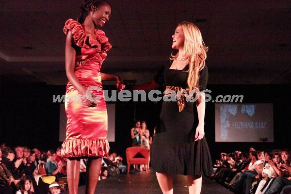Fashion Week 2008 .- En el centro de Convenciones del Mall del Río se realizo el Fashion Week 2008, donde todo el público presente disfruto de los exclusivos diseños de Stephanie Ruiz