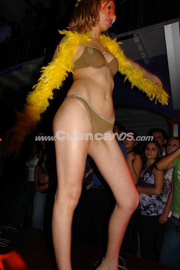 Desfile Lencería Caffarena 2007 .- Desfile de lencería Caffarena en la discoteca Lit