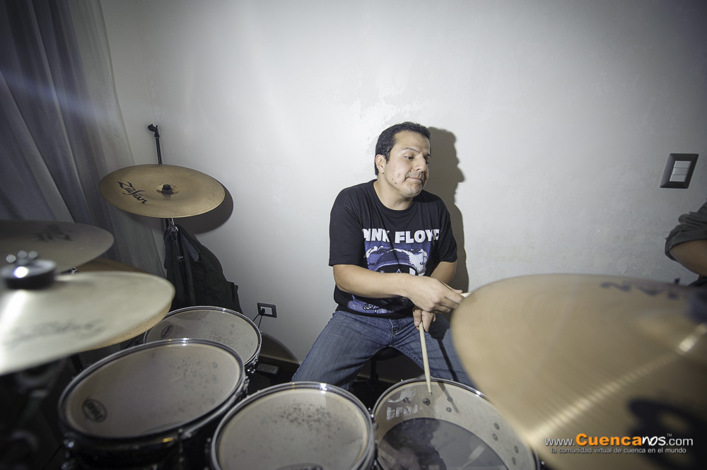 Barock .- Grupo Cuencano de Baladas y Rock integrado por 4 jovenes musicos.