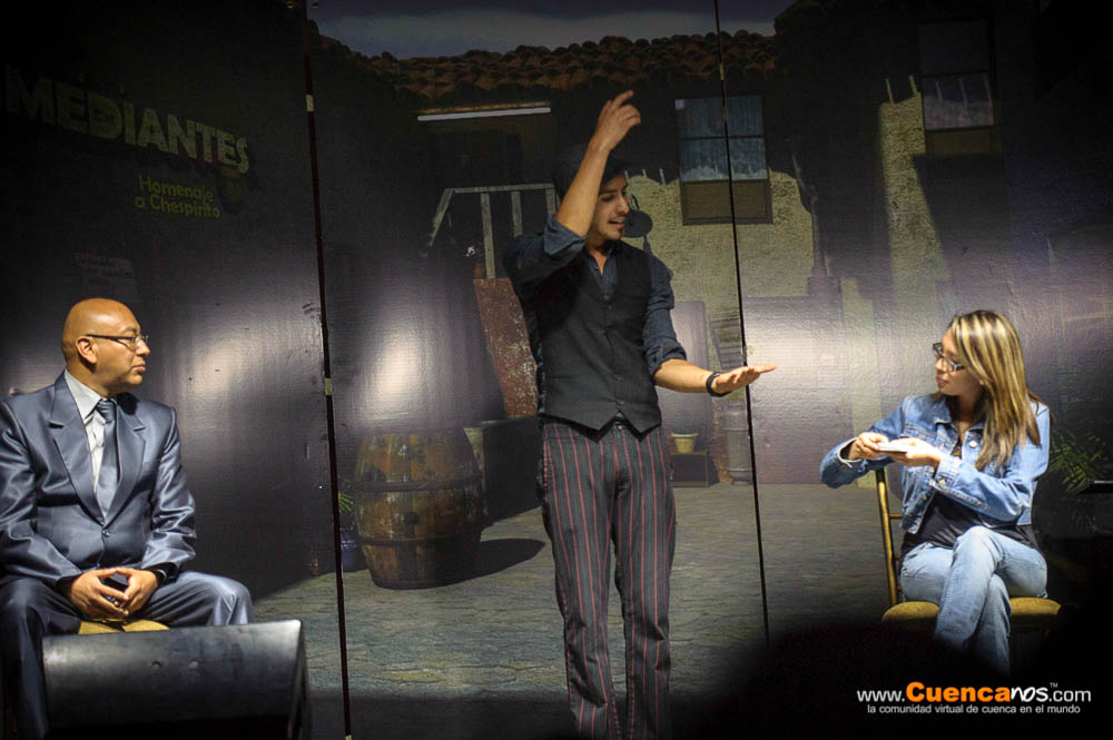 5Mediantes II Edicion<br>Juan Estrella .- Juan Estrella: Mago Ilusionista a llevado su magia a mas de 10 países al rededor del globo, ganador de varios premios internacionales Socio Fundador de la Asociación Mágica De Cuenca máximo exponente del arte mágico en Ecuador