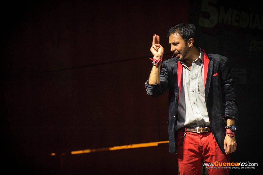 """5Mediantes II Edicion<br>Daniel Machado .- Daniel Machado: Actor ecuatoriano nacido en la ciudad de Quito, es conocido en el ámbito artístico como """"El Jack"""". Actor, publicista, loco, despistado, guionista en bruto (y bien bruto), animador, presentador de eventos, comediante, mimo y clown."""
