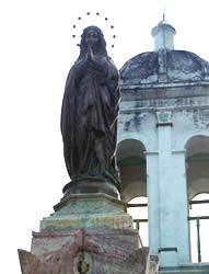 Monumento a la Virgen de Bronce