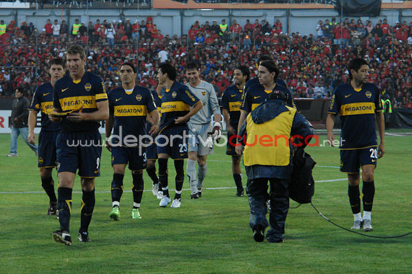 Deportivo Cuenca vs Boca Juniors 23 de Abril del 2009