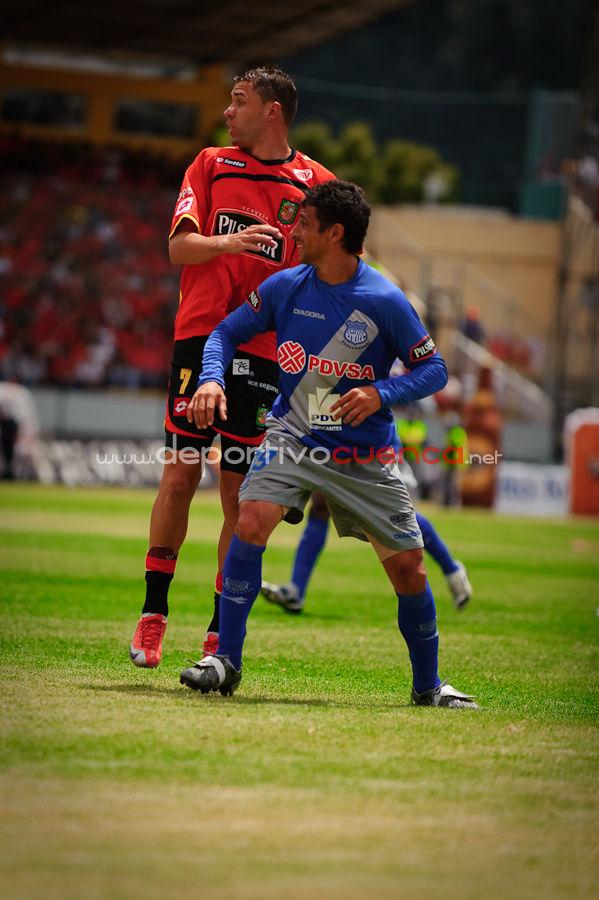 Deportivo Cuenca vs Emelec 22 de Septiembre del 2009