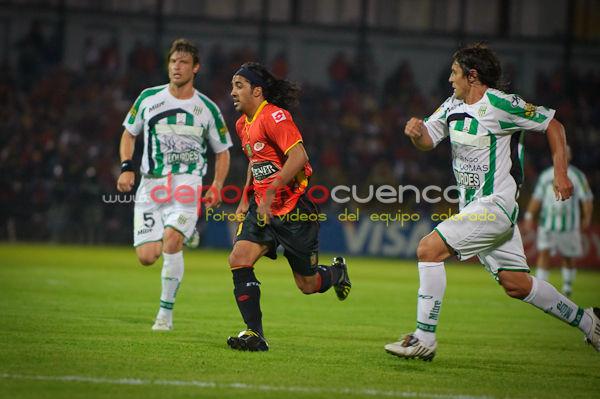 Deportivo Cuenca vs. Banfield  17 de Febrero del 2010