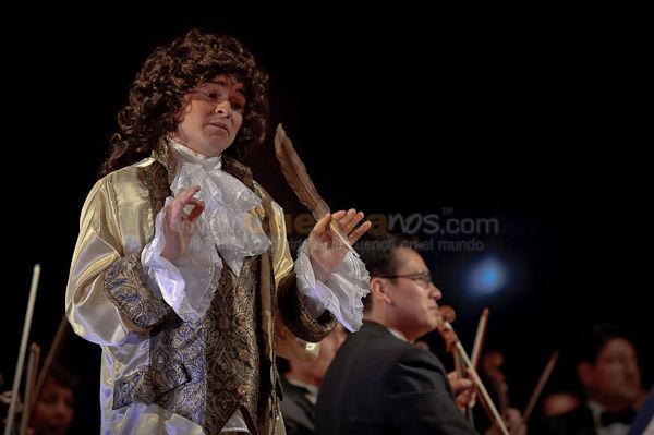 Mozart vino de Visita