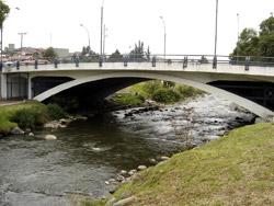 Puente de la bajada de Todos Santos