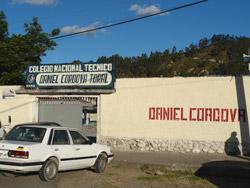 Colegio Daniel Córdova Toral
