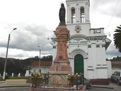 Monumento a Maria Virgen de Bronce