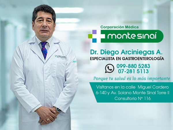 Dr. Diego   Arciniegas Avila  Gastroenterólogo