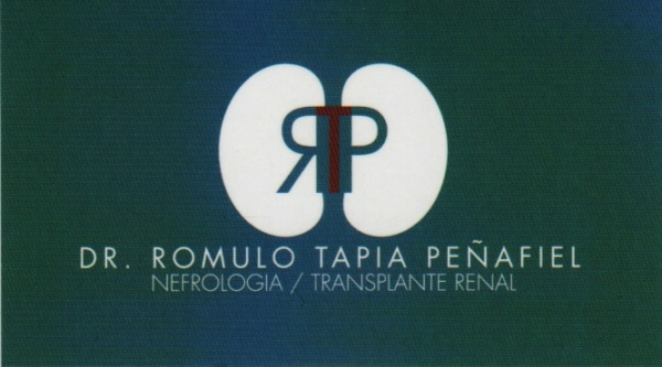 Dr. Rómulo   Tapia Peñafiel    Nefróloga