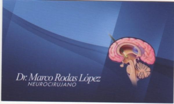 Dr. Marco   Rodas López  Neurocirujano
