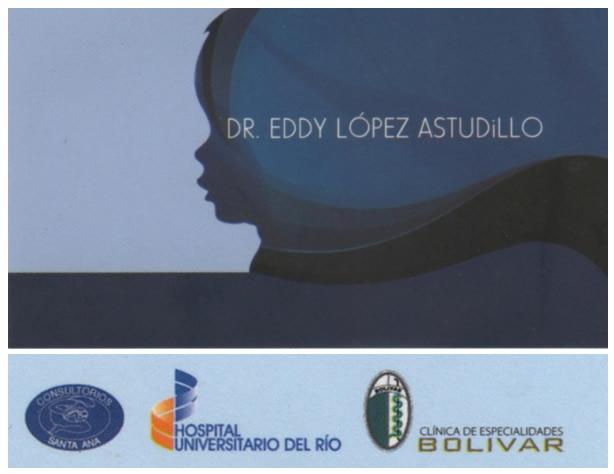 Dr. Eddy   López Astudillo  Pediatra
