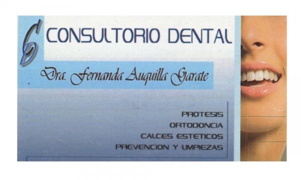 Dra. Fernanda   Auquilla Gárate    Odontóloga