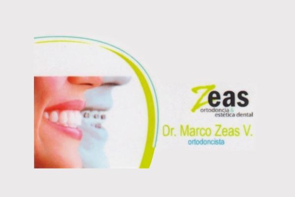 Dr. Marco Vinicio   Zeas Vega  Odontólogo