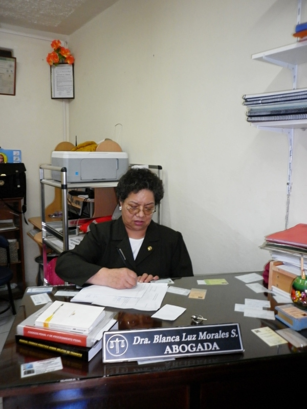 Dra. Blanca Luz Morales  Segarra